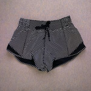 Lululemon reflective dot hotty hot short